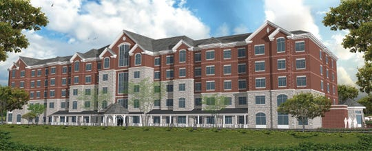 A rendering of The Inn at Bellefield, a 133-room boutique hotel to be constructed as part of the first phase of the Bellefield at Historic Hyde Park development.