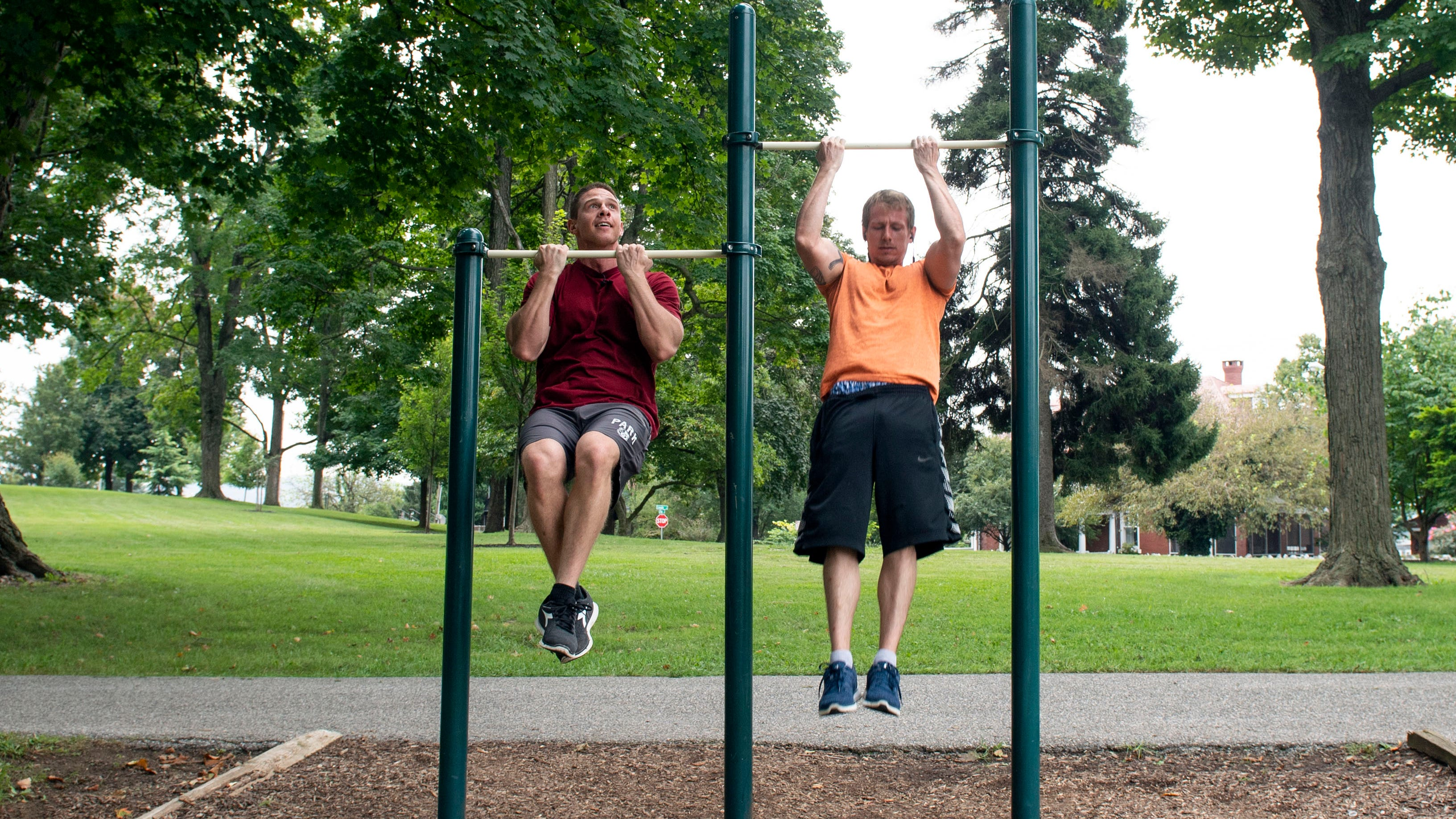 Here's how would-be ninja warriors are training at York area parks