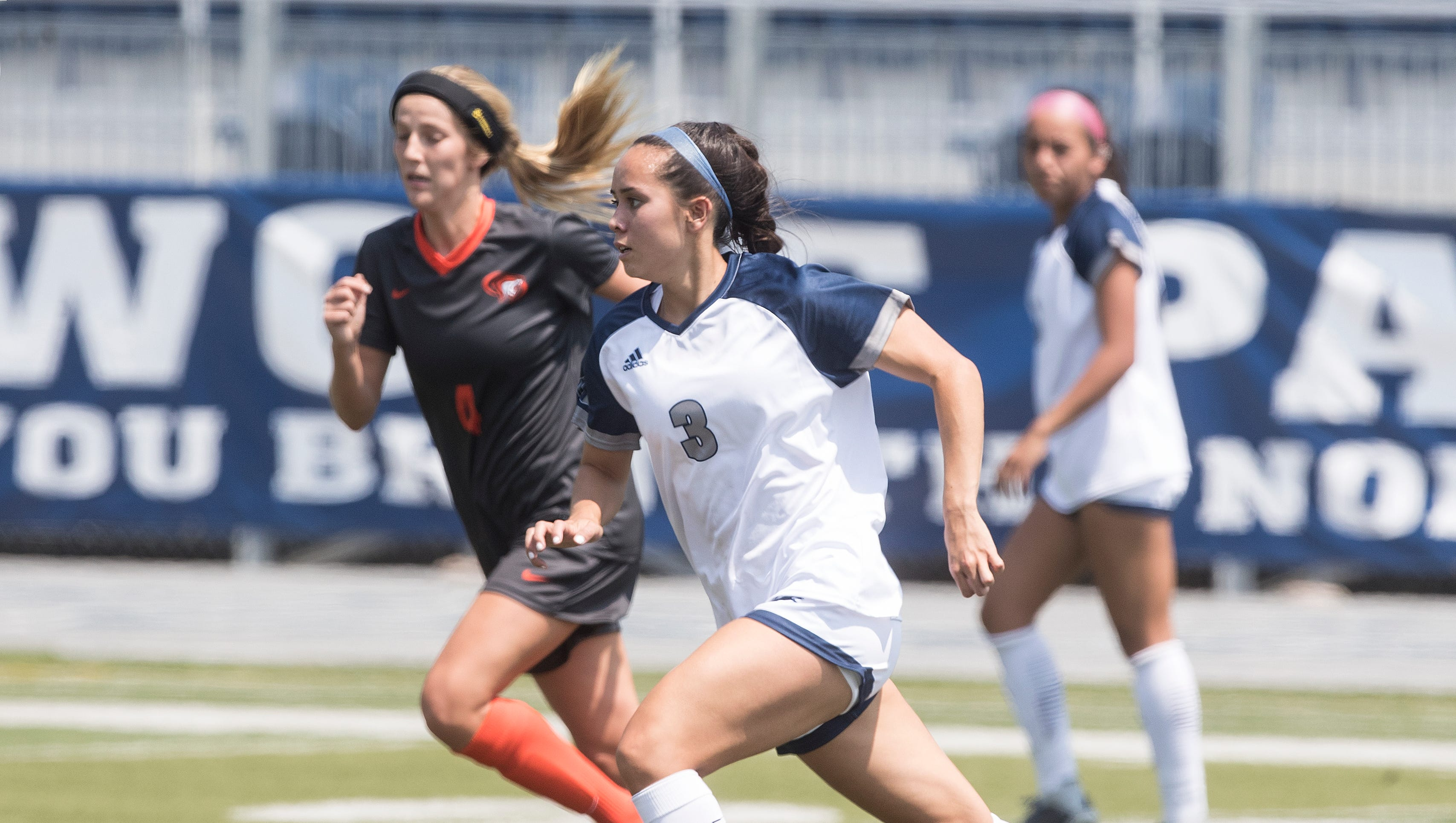 Angel Meriwether and the Wolf Pack women's soccer team got off to one of the best starts in program history.