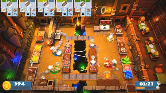 Overcooked 2 for PC, PS4, Switch and Xbox One.