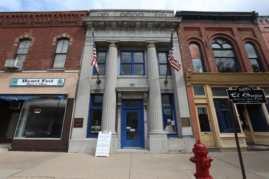 The National Women's Hall of Fame in Seneca Falls is housed in a former bank.  It will be moving to a former wool mill nearby.
