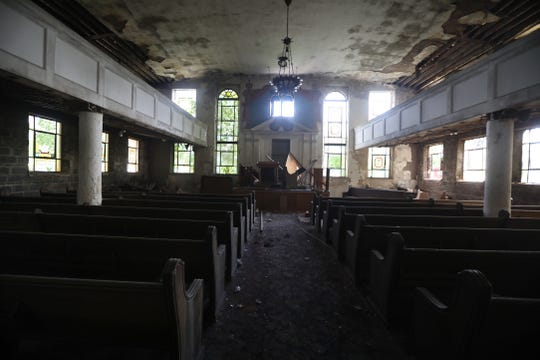 Joseph Avenue Arts and Cultural Alliance are working toward turning this former synagogue, B'nai Israel Achavas Achim, at 692 Joseph Ave., into a performance arts center.