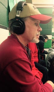 Lynn Smith, Ballinger's play-by-play announcer for KRUN 1400-AM, has been calling Bearcat games for 36 years.