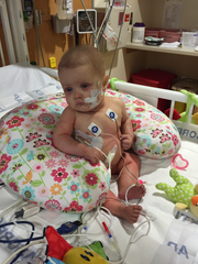 At 4-months-old Madi Adams was diagnosed with Juvenile myelomonocytic leukemia. She is now a healthy 4-year-old.
