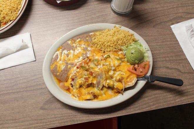Chicken Hidalgo plate at Hidalgos, 1315 N Chadbourne St.