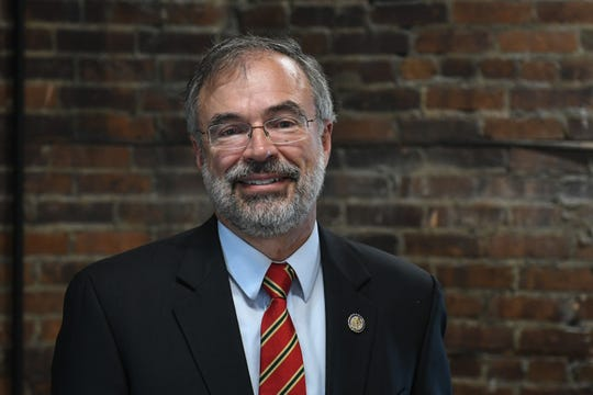 Andy Harris at the Daily Times offices in Salisbury on Wednesday, Sept 20, 2018.