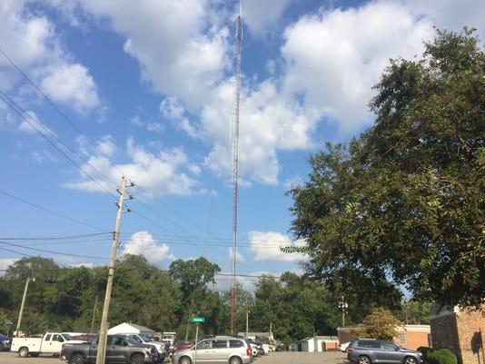 Accomac communications tower