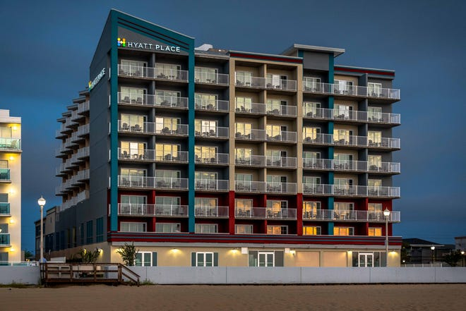 The Hyatt Place hotel, located at 16th Street on the Ocean City Boardwalk, has officially opened.