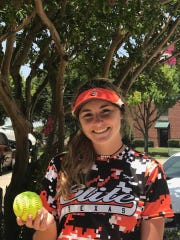 Evangel's Ellie DuBois has decided where she will play in college.
