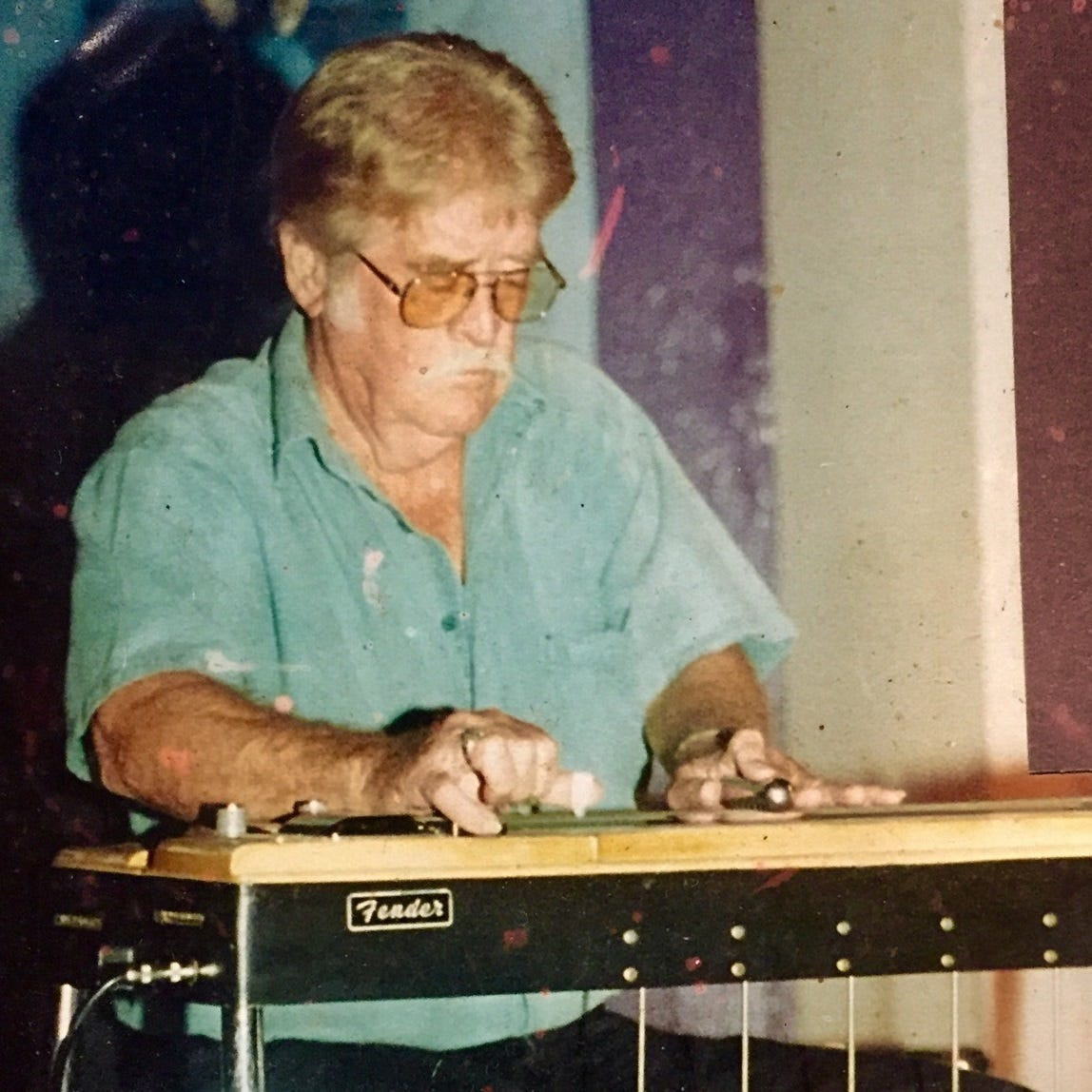 Shreveport steel guitarist who played for Hank Williams, Hayride dies