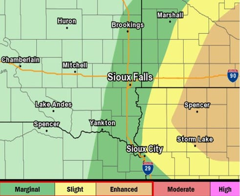 Severe Weather Possible Sept. 20