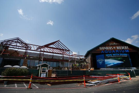 Construction on Bass Pro Shops will become a showcase for the Nature's Best Photography exhibit and the Windland Smith Rice International Awards.