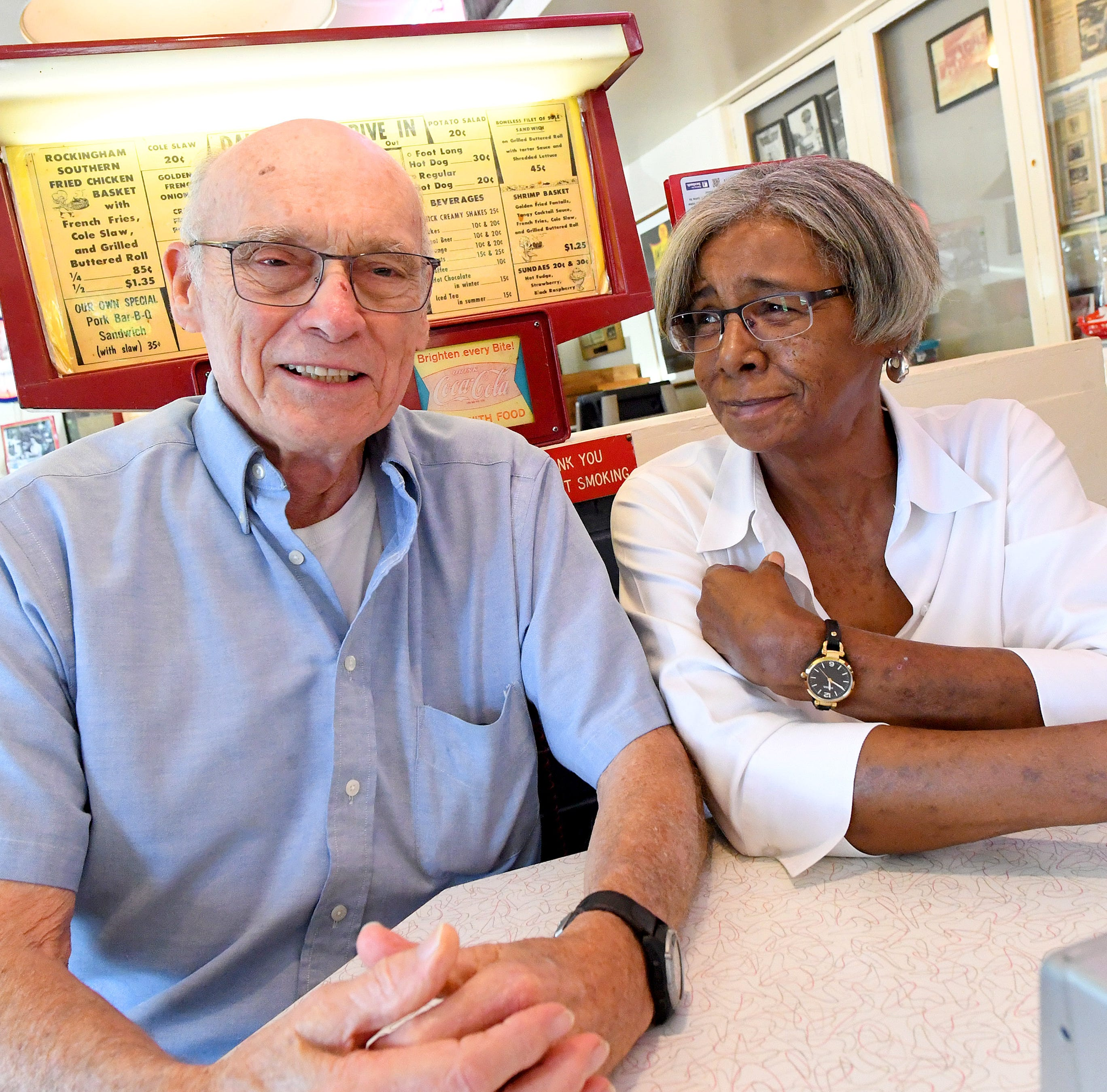 Desegregation began in Staunton at Wright's Dairy-Rite