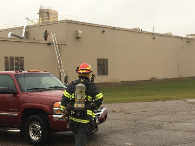 The St. Cloud Fire Department responded to a call at the WestRock manufacturing plant in St. Cloud on Thursday, Sept. 20.