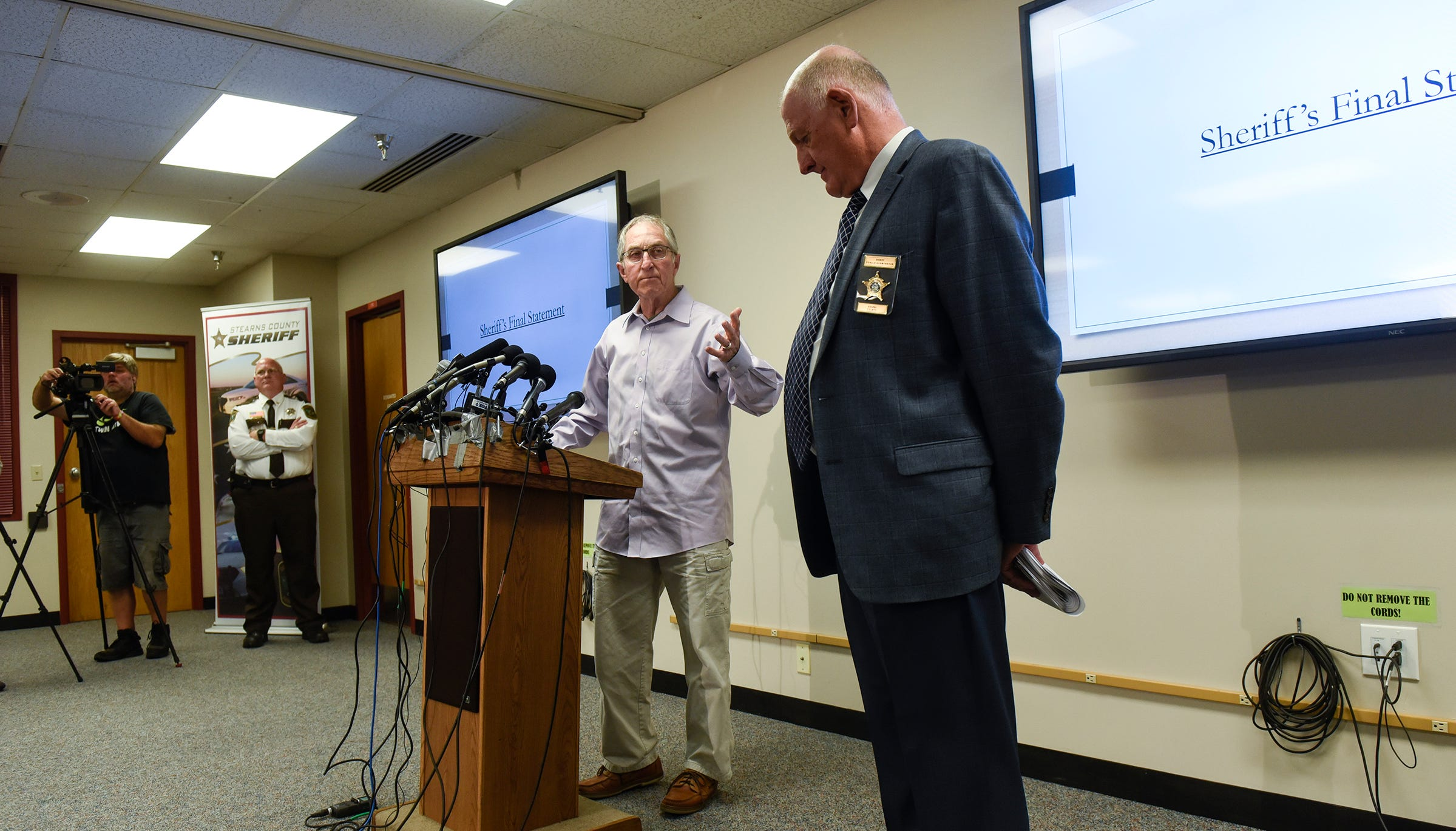 'Why was it a failure?' Former FBI investigator clashes with sheriff at Wetterling release