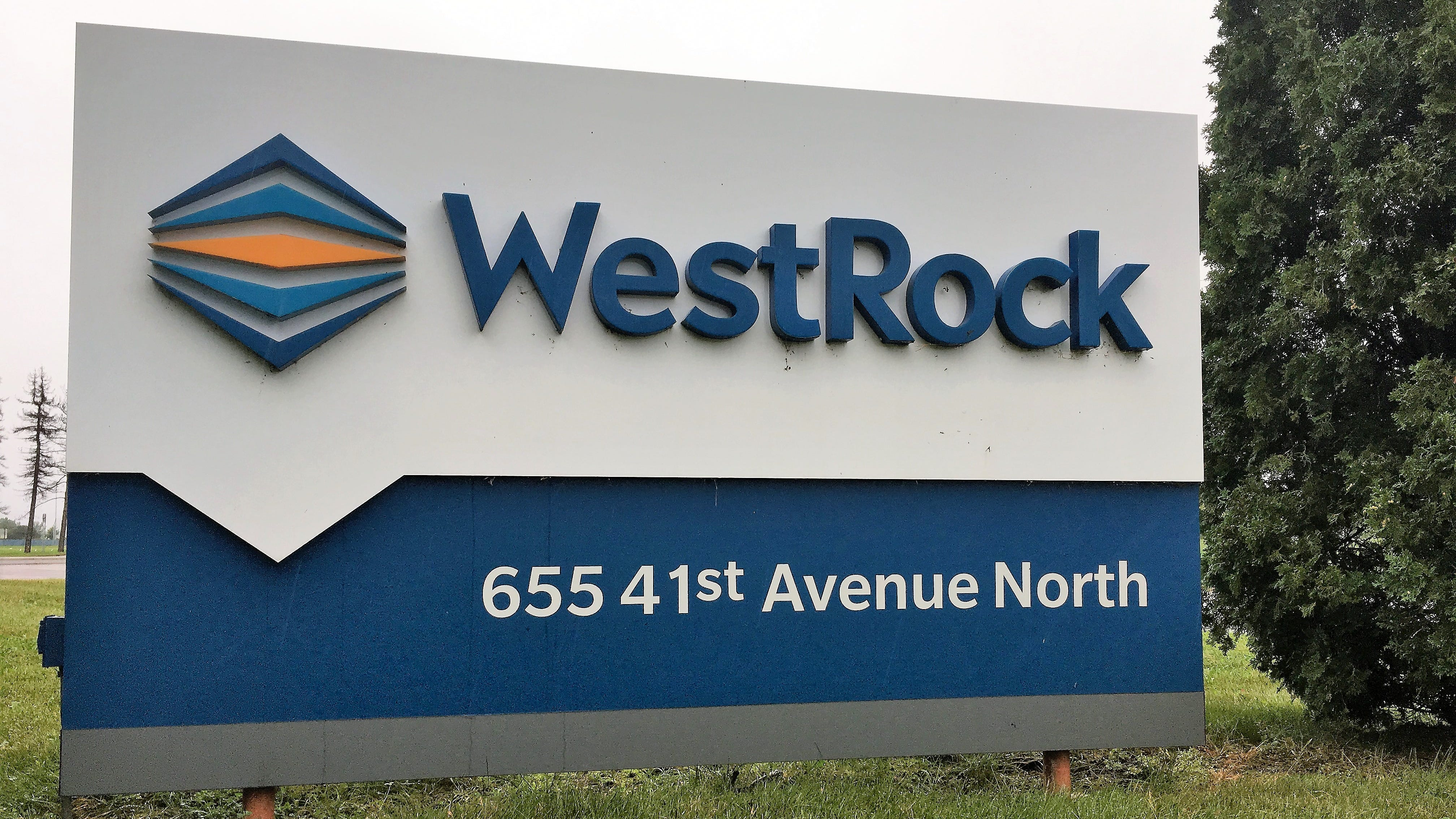 St. Cloud Fire Department responds to fire at WestRock paper packaging plant