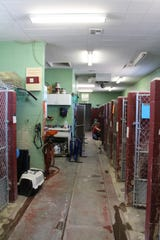 The current Cedar City animal shelter is located in an old coal storage facility on Kitty Hawk Drive.