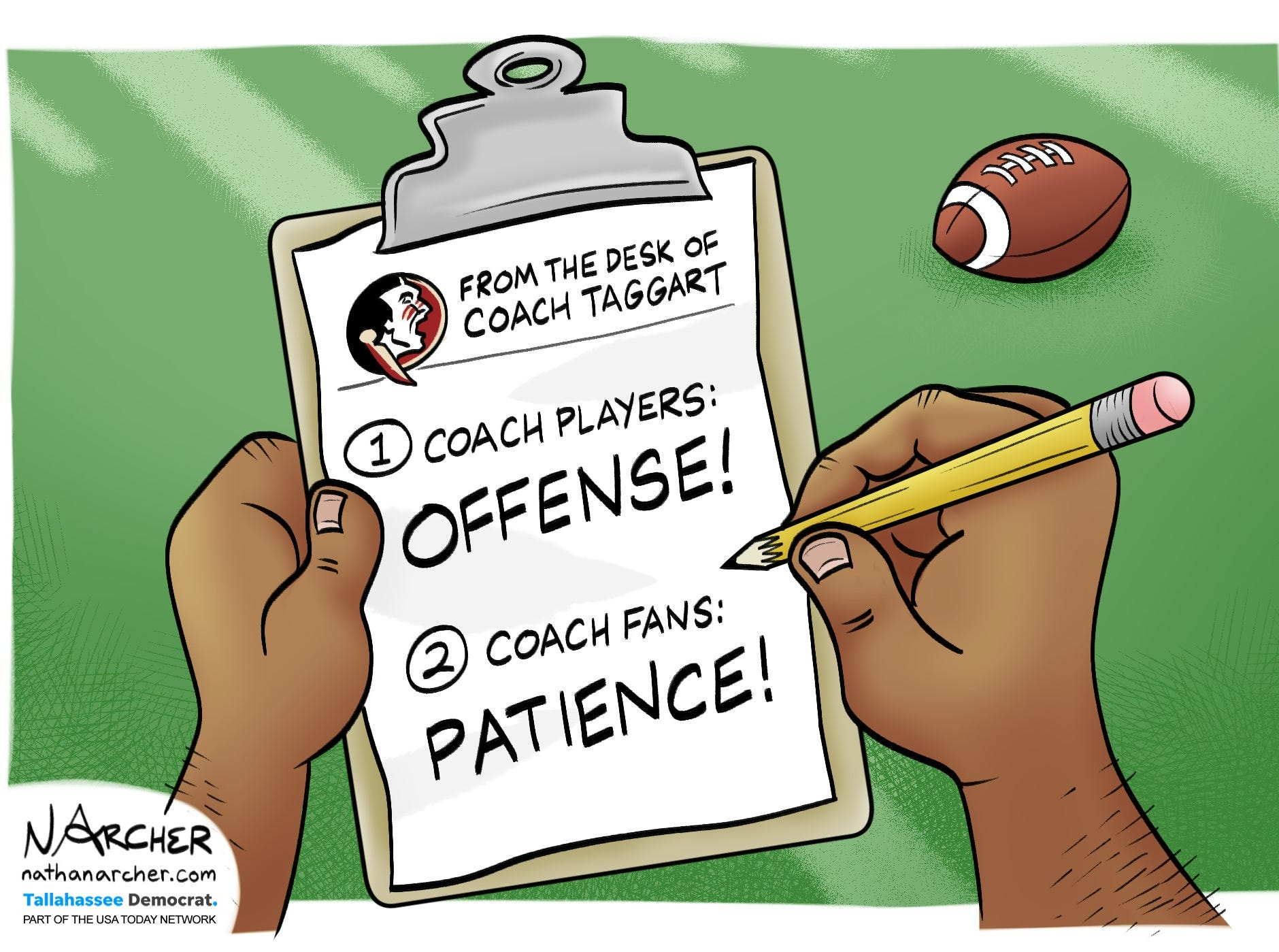 From the desk of Coach Taggart