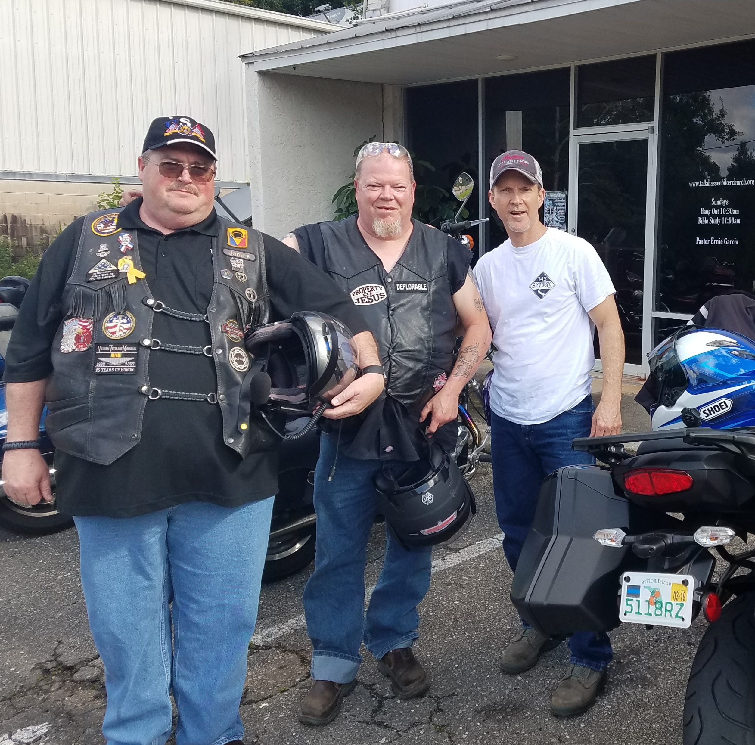 Worshippers rev up spiritual engines at Tallahassee Biker Church
