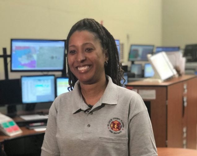 Jada Webb, a 911 dispatcher with the St. Lucie Fire District Communications Office, received a call Wednesday morning from a man who said his wife was in labor. Webb talked with the man and ultimately, helped to deliver baby Logan -- over the phone.