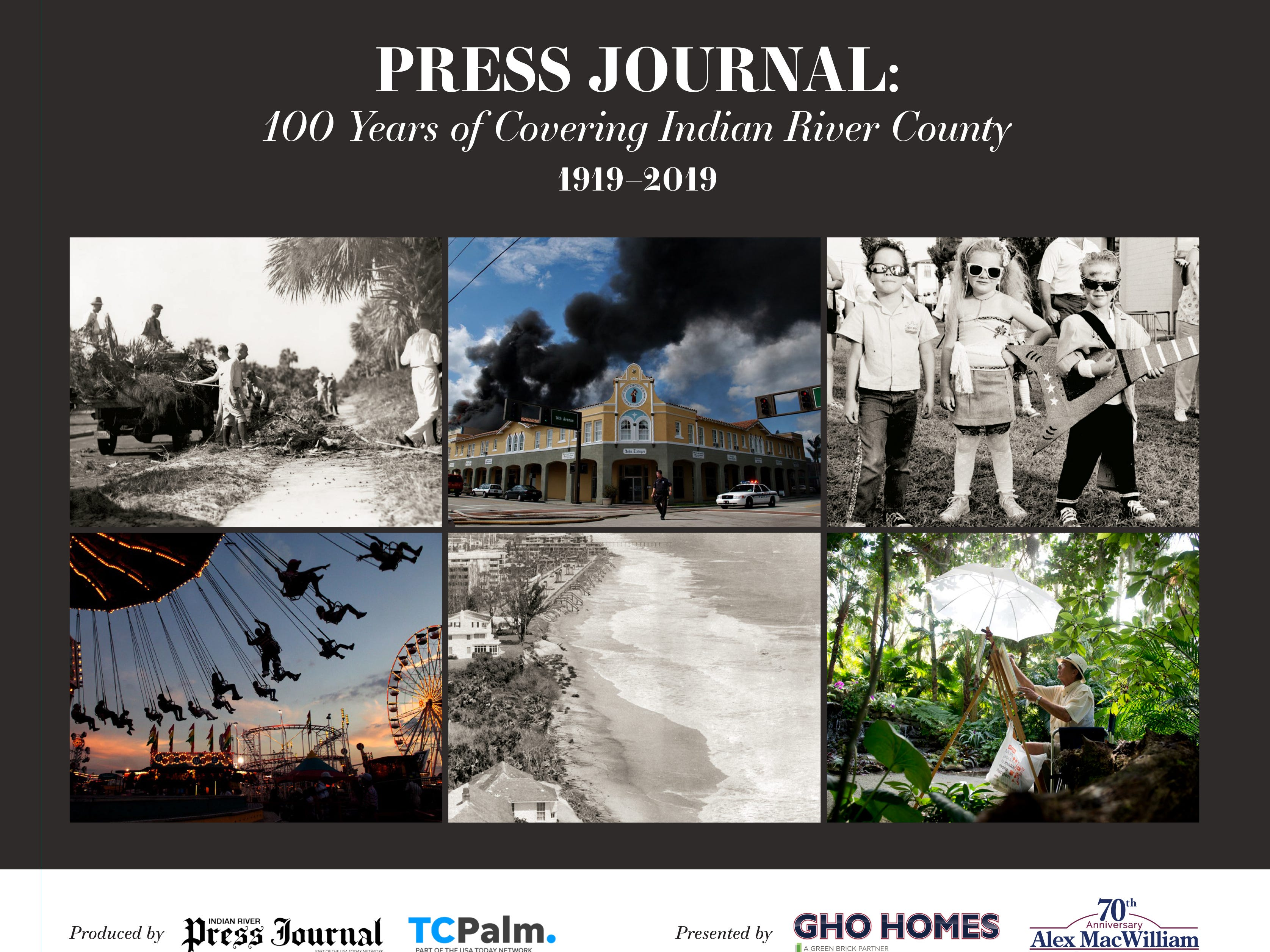 "The Press Journal has published ""100 Years of Covering Indian River County"" book for city, newspaper centennials."
