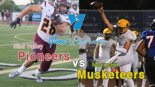 The Ventura Orthopedics Game of the Week is Simi Valley at Moorpark. Check out live coverage Friday night at 7 p.m. at vcstar.com