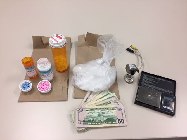 Drugs, cash and equipment believed to be used in the sale of drugs were confiscated Sept. 12 by detectives with the Ventura County Sheriff's West County narcotics street team.
