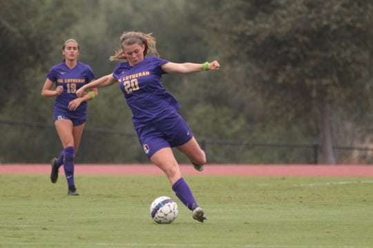 Cal Lutheran sophomore Alexandra Fagerberg was named SCIAC Offensive Player of the Week on Monday, after scoring the game-winning goal in the Regals' 1-0 win over Claremont-Mudd-Scripps last Saturday.