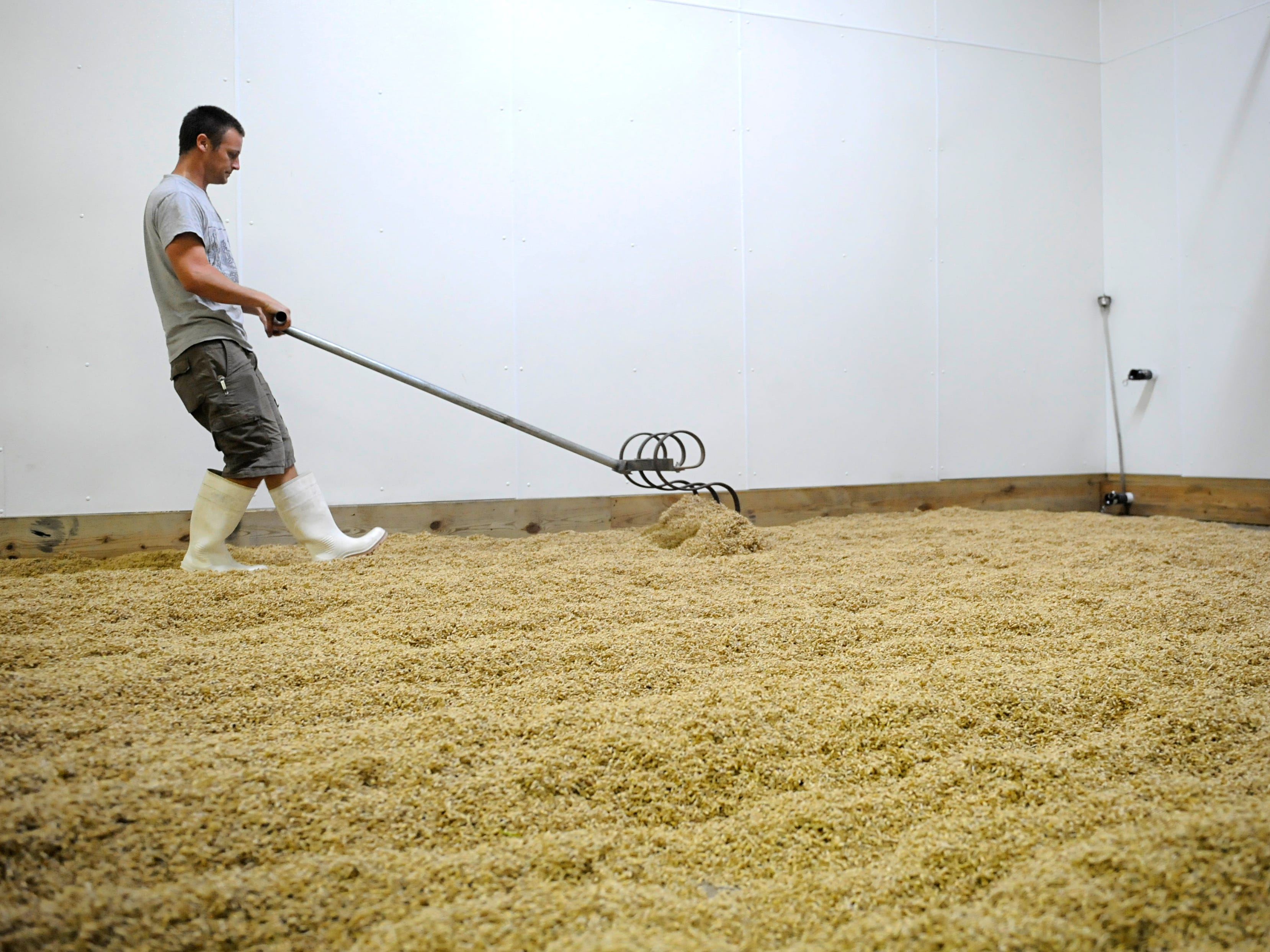 Rabbit Hill Farms in Shiloh, Cumberland County grows and converts grain into malt which is then used to make beer.