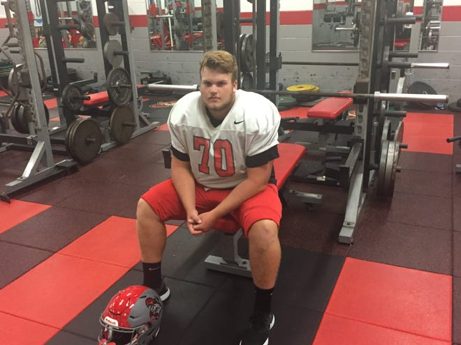 Vineland's Mike Bokma has parlayed a great work ethic into a productive career as a player and leader on the football team