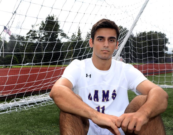 Rockland Scholar Athlete of the Week Ari Antar was photographed at Clarkstown North High School in New City Sept. 20, 2018.