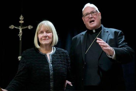 Cardinal Dolan With Judge
