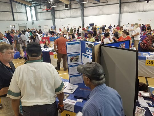 About 1,200 veterans from Delaware and surrounding states attended the annual Veterans Stand Down in 2017. the 10th annual event is expected to draw even more veterans and organizations offering crucial services to vets.