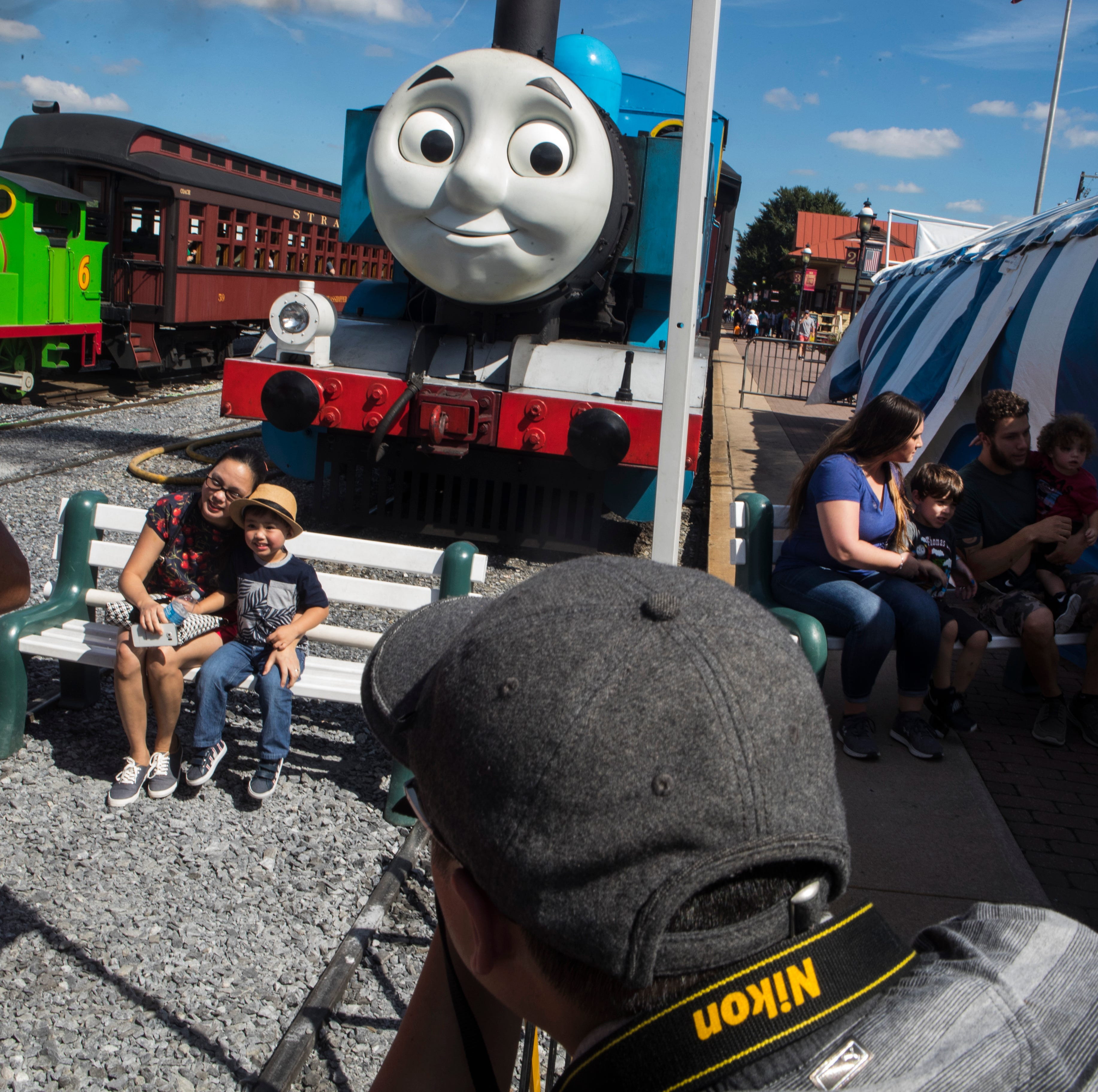 Thomas the Tank Engine is real, and you can meet him