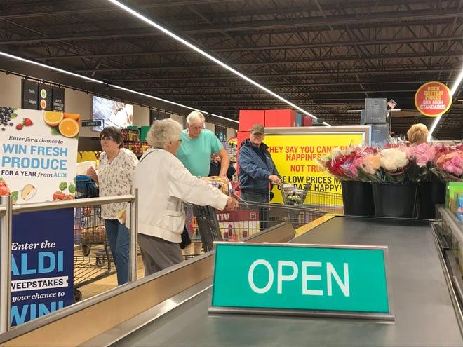 Aldi is now open in Wisconsin Rapids.