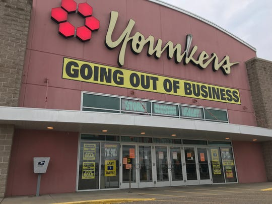 Younkers closed at the end of August 2018 in Plover.