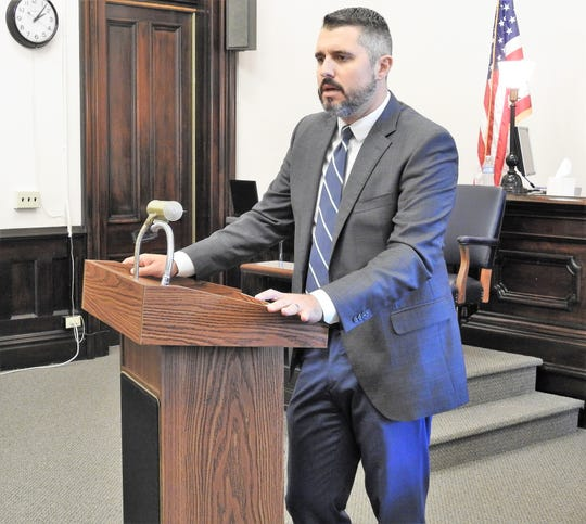Prosecutor Jason Given said if Issue1 passes there would be more consequences for someone walking down the street with an open beer can than if they were carrying 100 pounds of heroin.