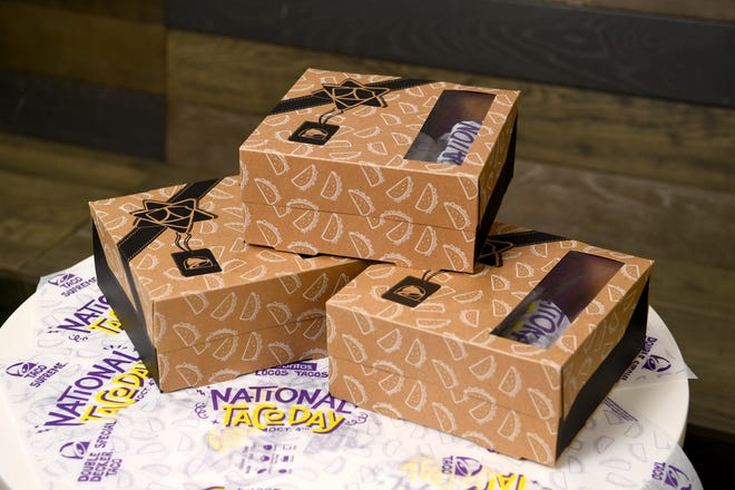 Taco Bell will celebrate National Taco Day by offering a $5 Gift Set on Oct. 4.