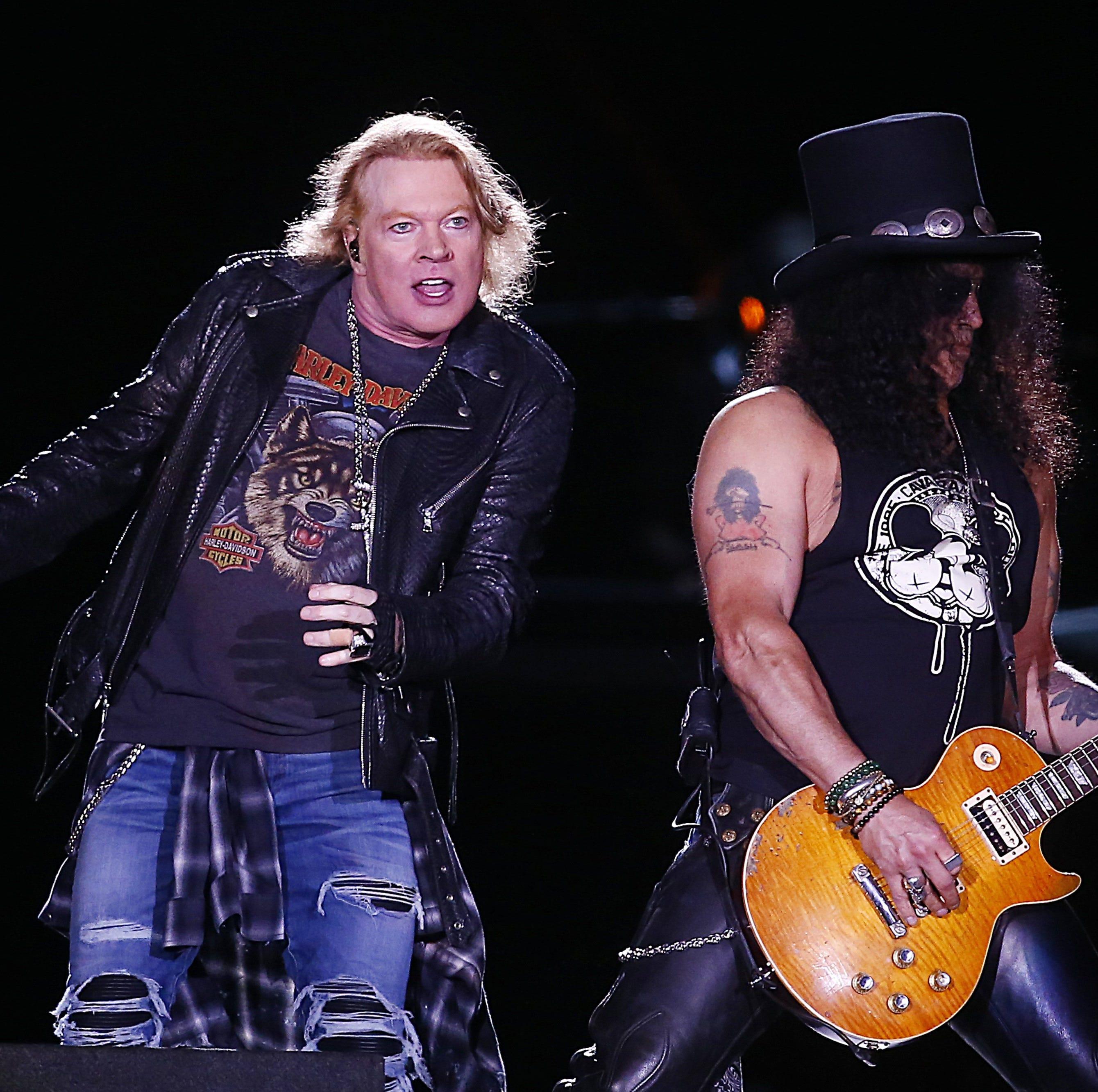 Exit 111 lineup: Guns N' Roses, Def Leppard headline Manchester, Tenn. rock fest