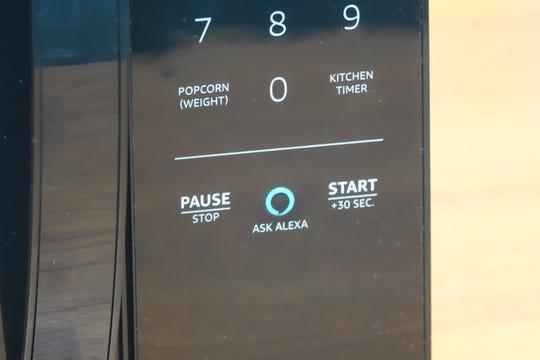 The new Amazon Basics microwave has Alexa functionality