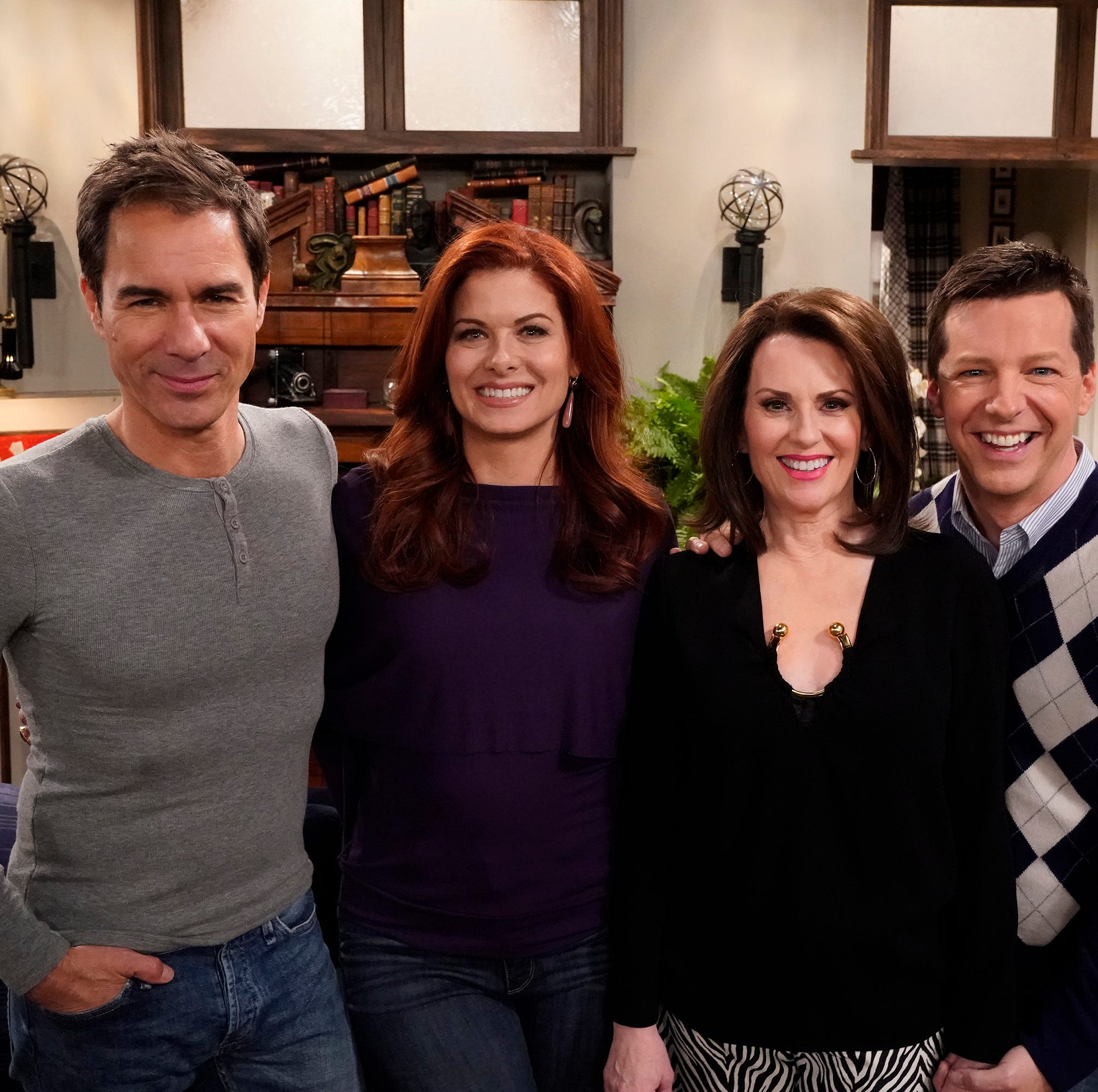 "After being off the air since 2006, NBC decided to bring ""Will & Grace"" back with the original four members of the cast in 2017."