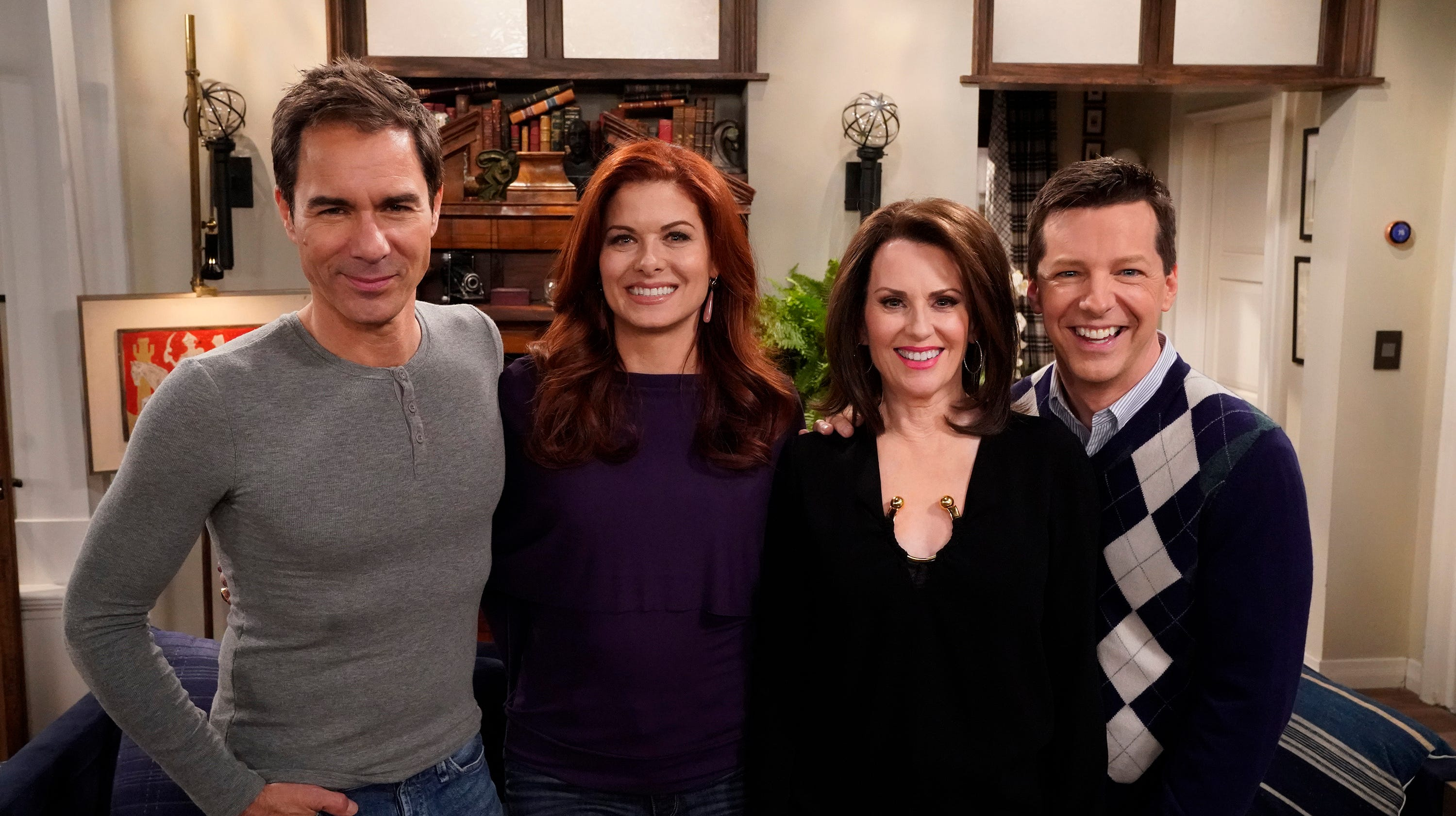 """After being off the air since 2006, NBC decided to bring """"Will & Grace"""" back with the original four members of the cast in 2017."""
