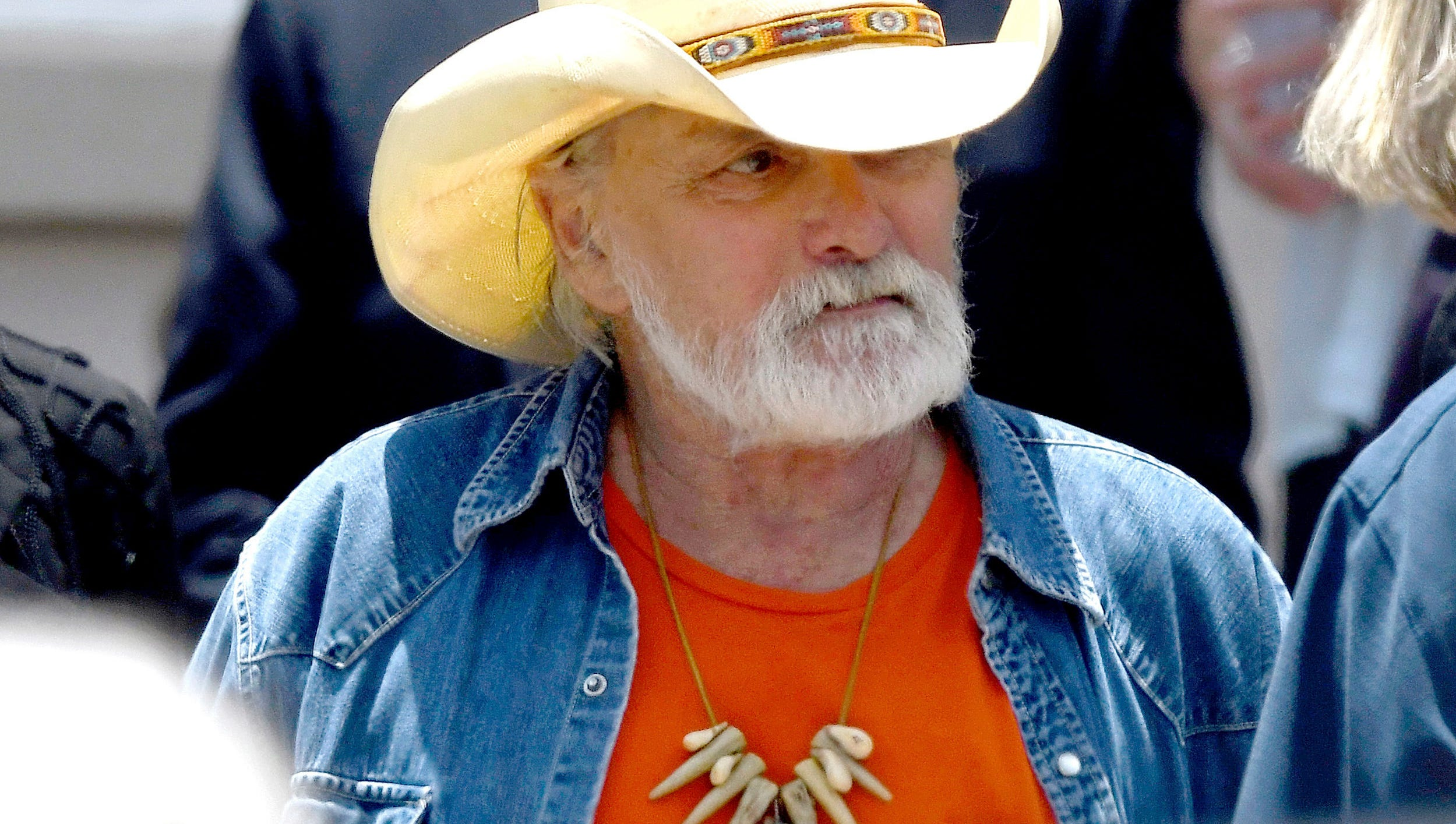 "Founding member of the Allman Brothers Band Dickey Betts, photographed in June 2017, is in ""critical but stable"" condition after slipping and cracking his head while playing with the family dog in Florida."