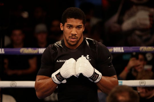 Anthony Joshua is undefeated in 21 fights going into Saturday's bout against  Alexander Povetkin.