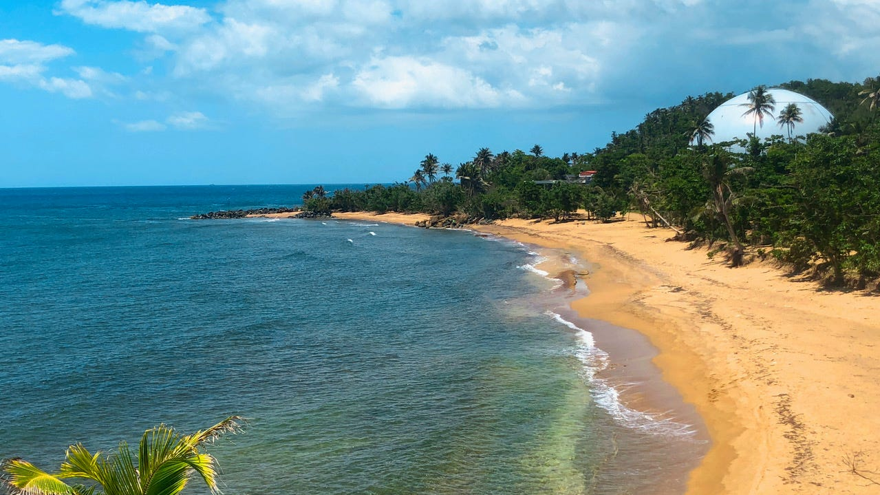 One year after Hurricane Maria, Puerto Rico is trying to make a comeback. It has always been known for its beaches, such as Domes Beach in Rincon.