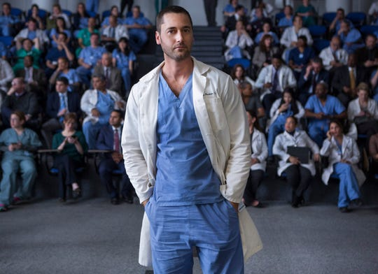 "Ryan Eggold as Dr. Max Goodwin on ""New Amsterdam."""
