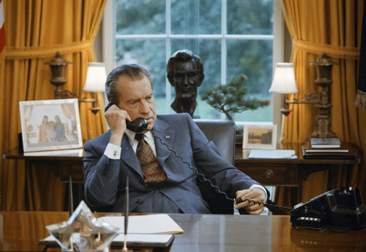 Charles Fergusons Watergate Photo Courtesy Of Richard Nixon Presidential Library And Museum National Archives And Records Administration