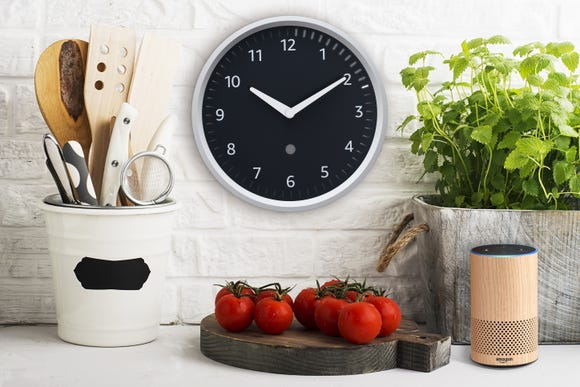 Amazon's Echo Wall Clock.