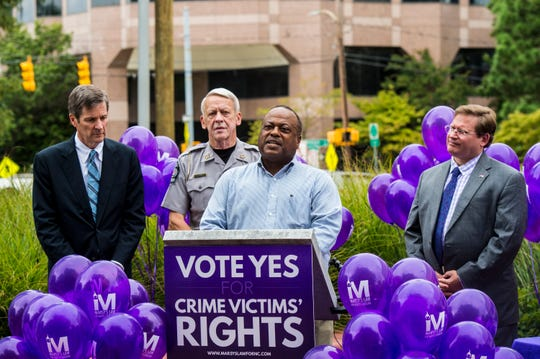 North Carolina's victims' rights amendment, known as Marsy's Law, will give crime victims a voice in the process and keep them informed.