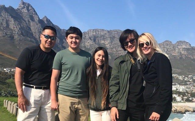 The Wang family.